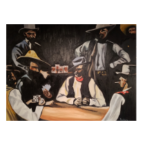 High stakes 36x48