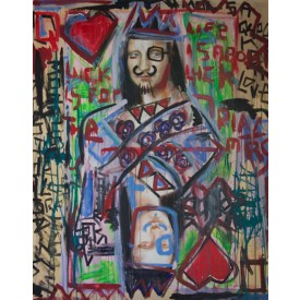 Asia Collection 1 / Mona Lisa Queen of Hearts, Asia -46X60